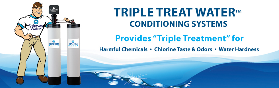 Triple Treat Water Conditioning System