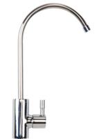 Designer chrome faucet